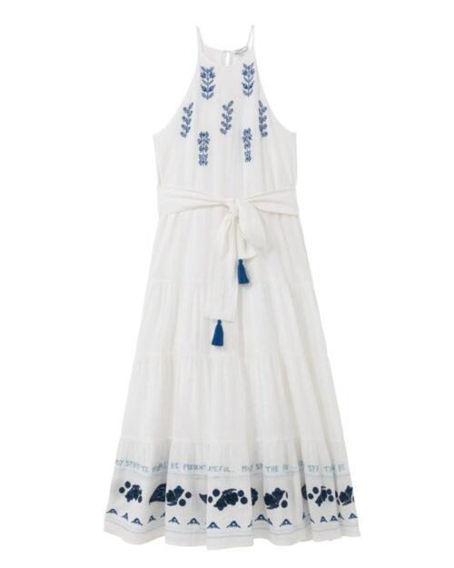 Vestito midi Desigual MEMPHIS Bianco – 65701