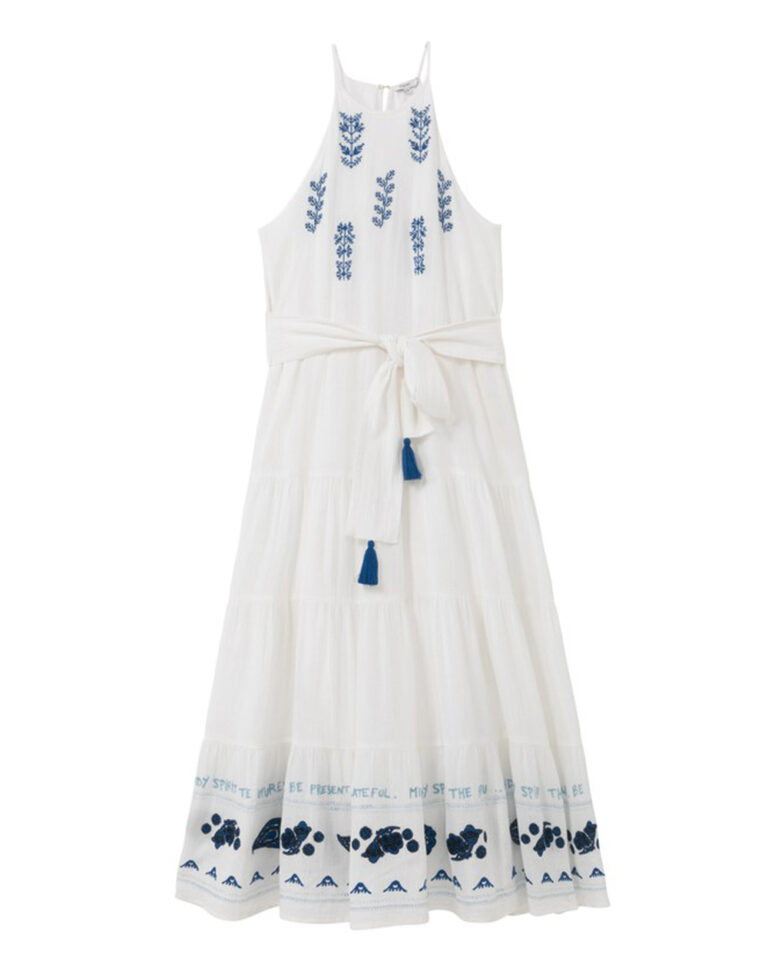 Vestito midi Desigual MEMPHIS Bianco - Foto 2