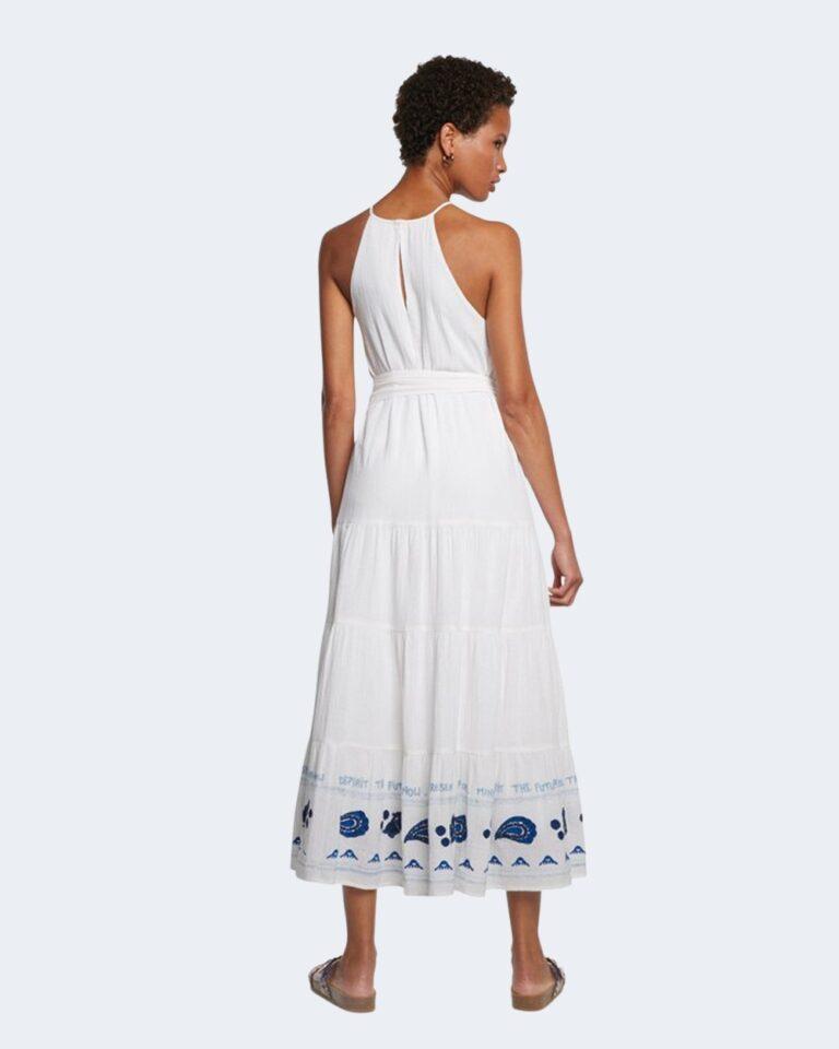 Vestito midi Desigual MEMPHIS Bianco - Foto 3