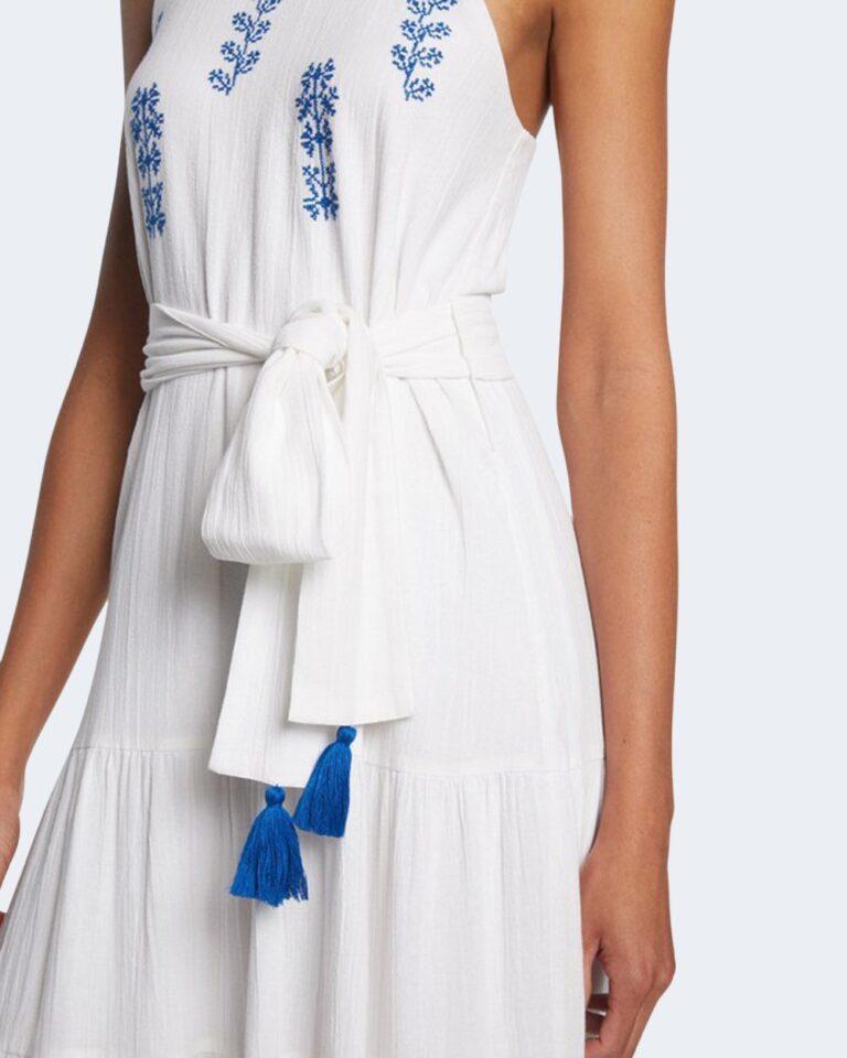 Vestito midi Desigual MEMPHIS Bianco - Foto 4