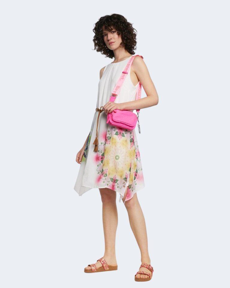 Vestito corto Desigual SHEN Bianco - Foto 1
