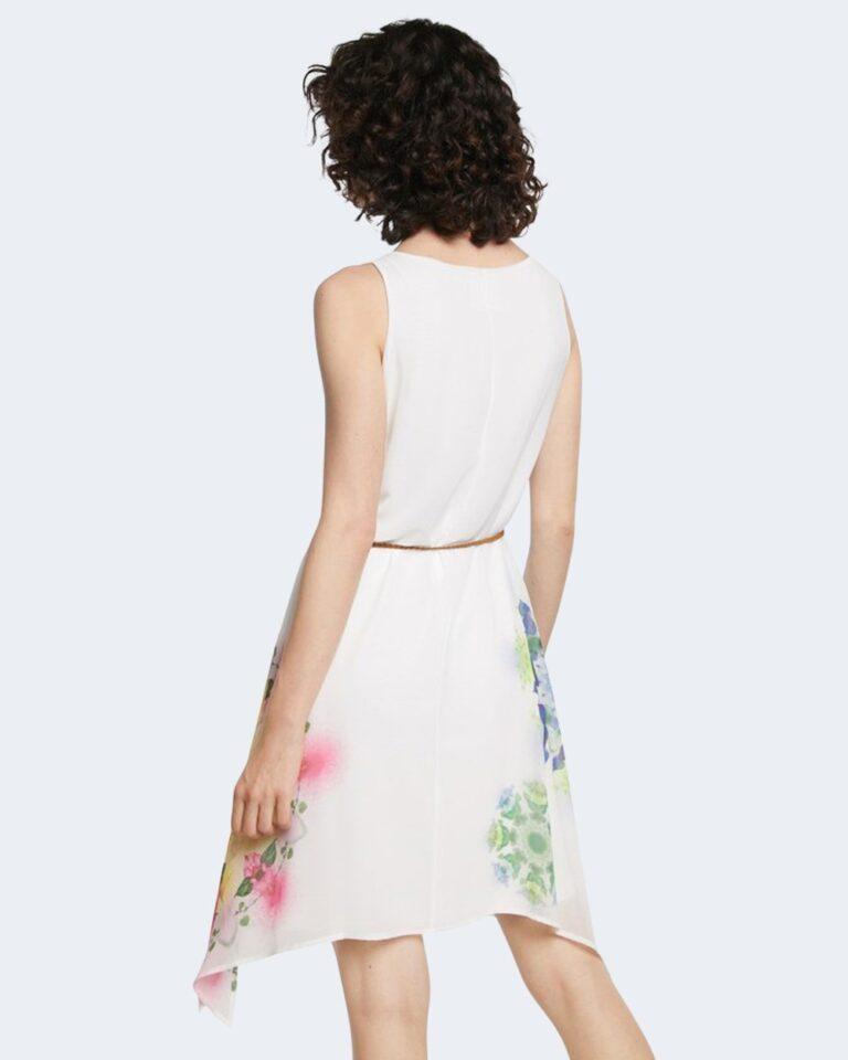 Vestito corto Desigual SHEN Bianco - Foto 3