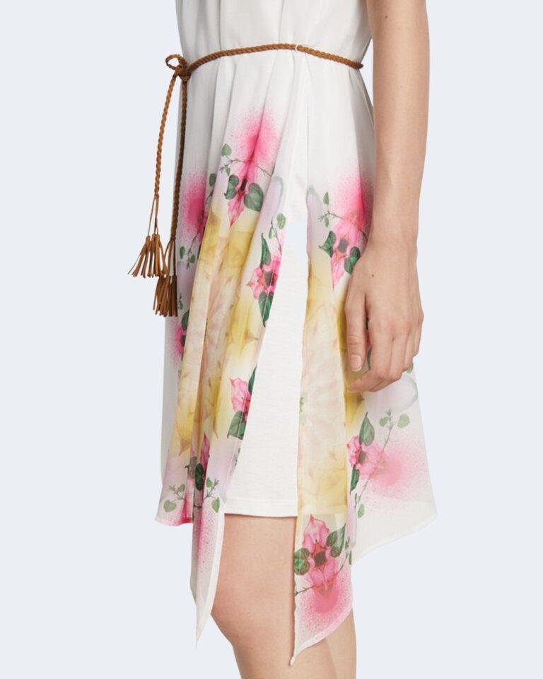 Vestito corto Desigual SHEN Bianco - Foto 4
