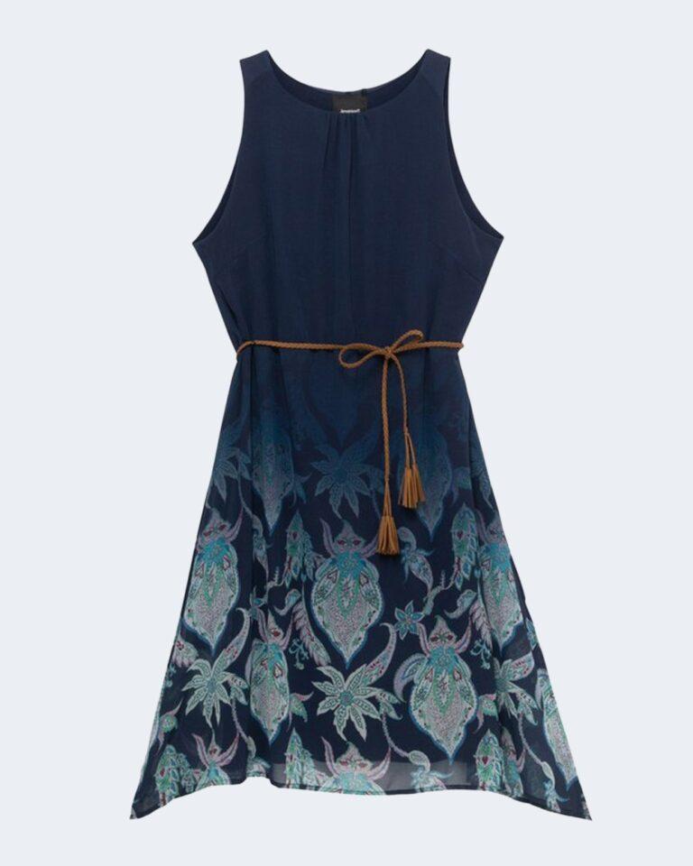 Vestito corto Desigual JANE Blu - Foto 2