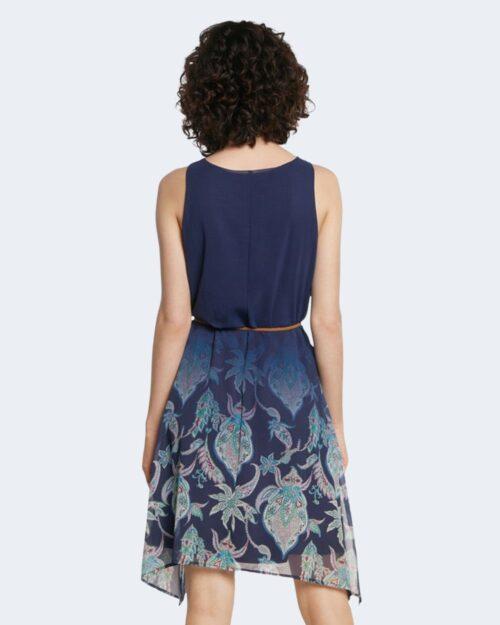 Vestito corto Desigual JANE Blu - Foto 3