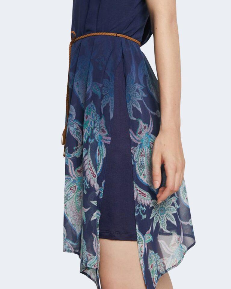Vestito corto Desigual JANE Blu - Foto 4