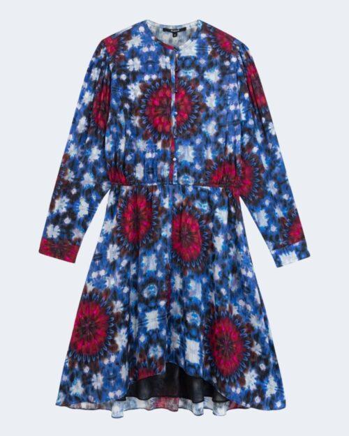 Vestito corto Desigual Vest napoles Blu - Foto 4