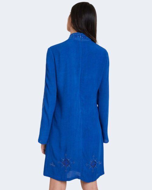 Vestito corto Desigual VEST VIENA Blu Chiaro - Foto 3