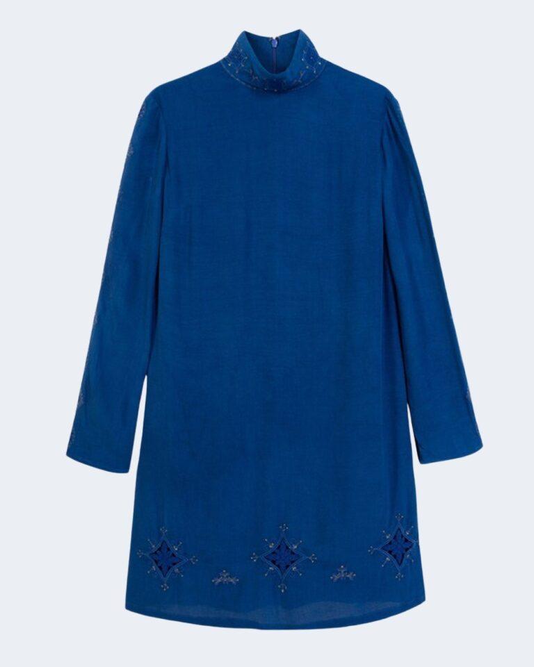Vestito corto Desigual VEST VIENA Blu Chiaro - Foto 4
