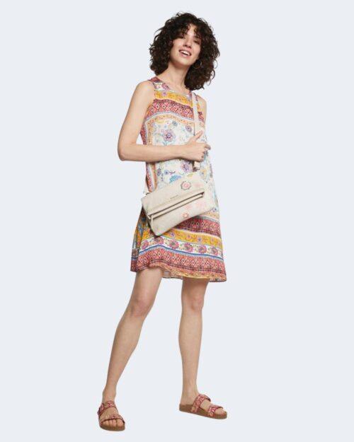 Vestito corto Desigual TOULOUSE Celeste – 65691