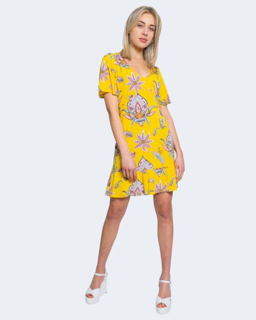 Vestito corto Desigual LEMARK Giallo – 65378