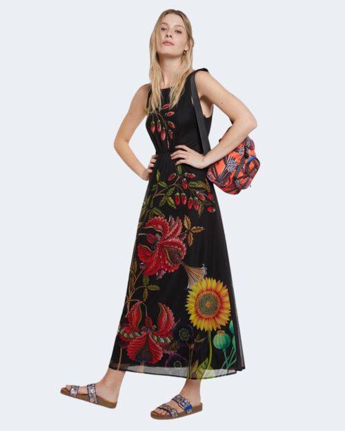Vestito lungo Desigual HANS Nero – 65407