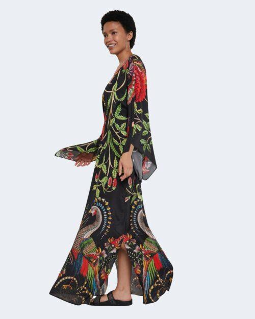 Vestito lungo Desigual LIMOGES Nero - Foto 1