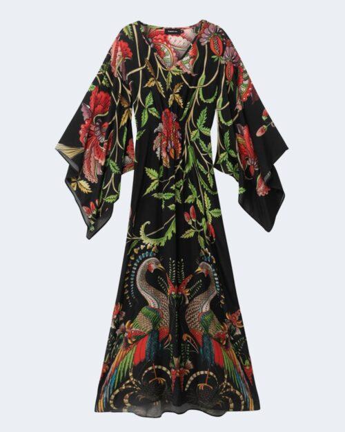 Vestito lungo Desigual LIMOGES Nero - Foto 2