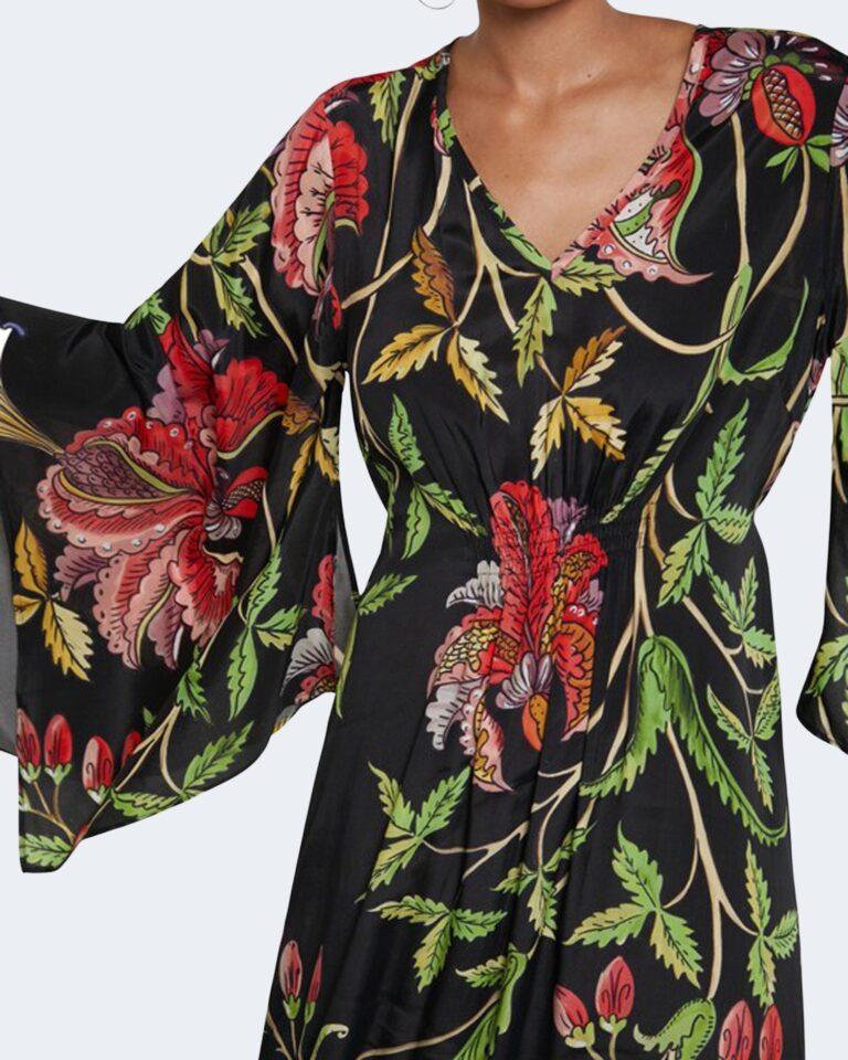 Vestito lungo Desigual LIMOGES Nero - Foto 3