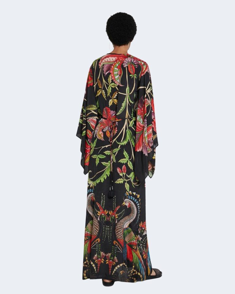Vestito lungo Desigual LIMOGES Nero - Foto 4