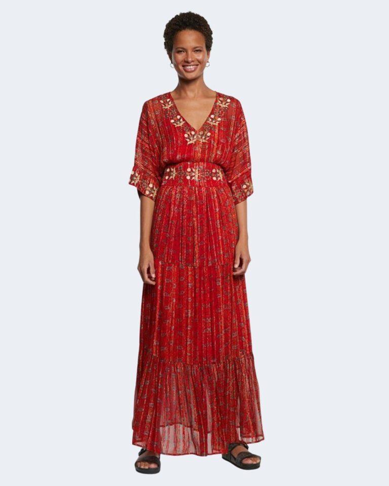 Vestito lungo Desigual PORTLAND Rosso - Foto 1