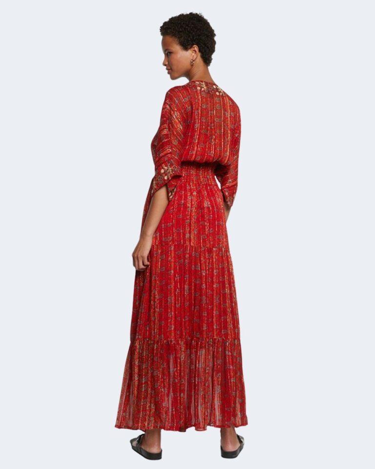 Vestito lungo Desigual PORTLAND Rosso - Foto 3