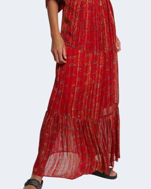 Vestito lungo Desigual PORTLAND Rosso - Foto 4