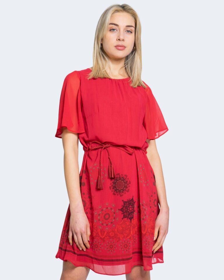 Vestito corto Desigual TAMPA Rosso - Foto 1
