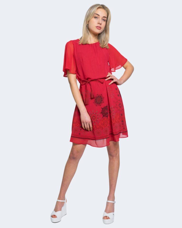 Vestito corto Desigual TAMPA Rosso - Foto 2