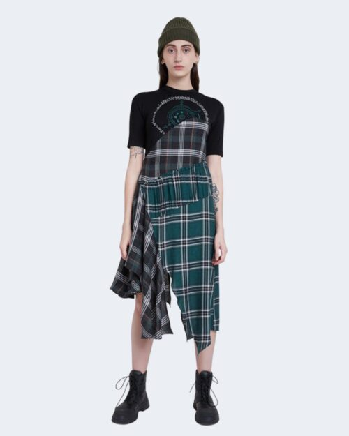 Vestito midi Desigual VEST GRETA Verde – 61687