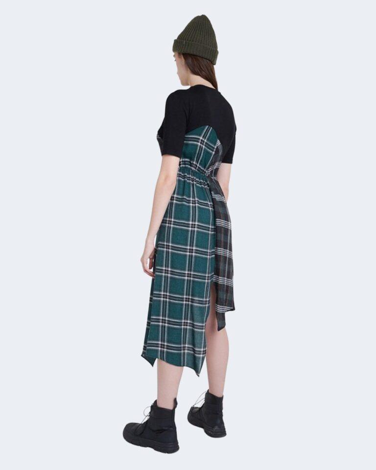Vestito midi Desigual VEST GRETA Verde - Foto 3