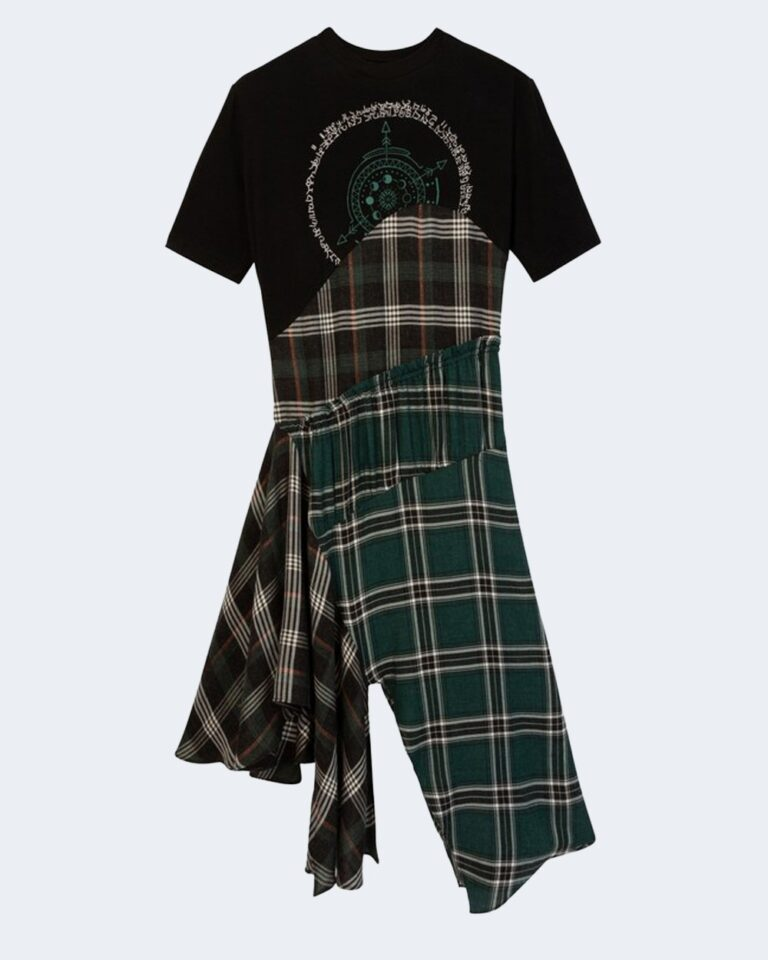 Vestito midi Desigual VEST GRETA Verde - Foto 4
