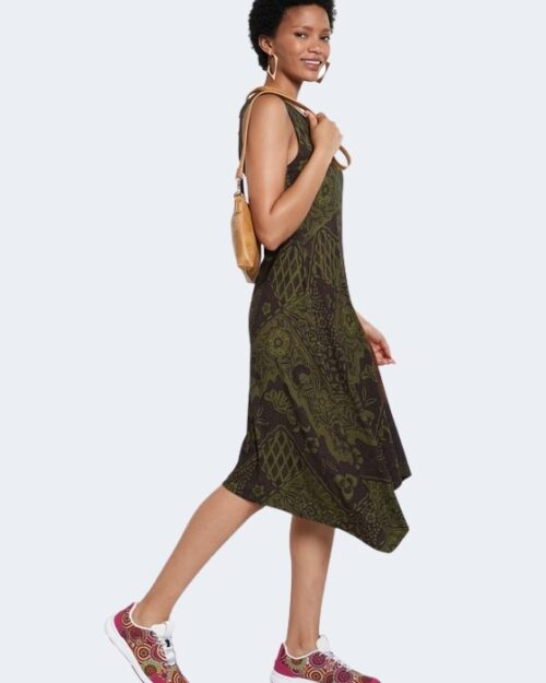 Vestito corto Desigual NISE Verde - Foto 1