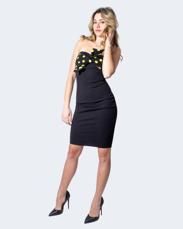 Vestito corto Guess ESTEBANA DRESS Nero - Foto 2