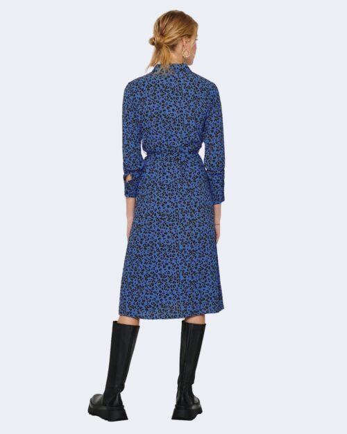 Vestito midi Jacqueline De Yong Piper Blu – 62452