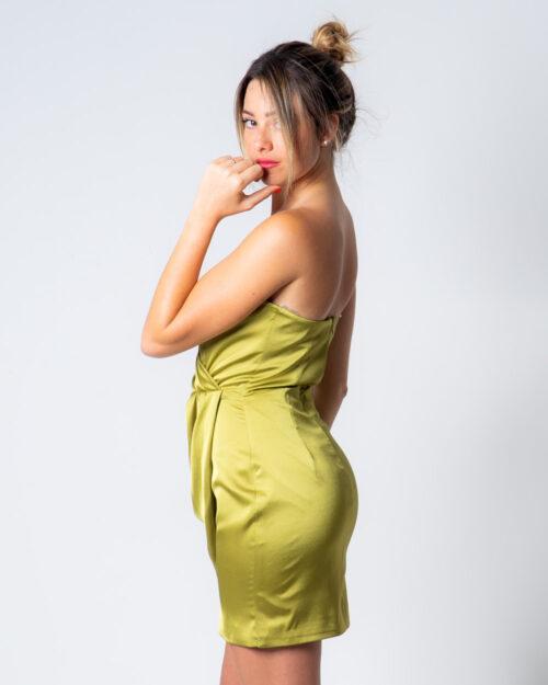 Vestito corto Miss You PORTAFOGLIO Verde – 50832