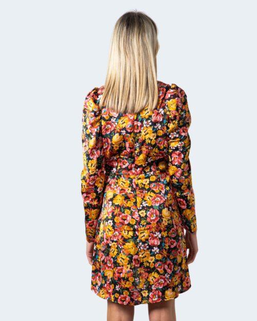 Vestito corto Only Gina LS Short Dress Wvn Ocra – 61195