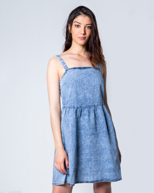 Vestito corto Vila Clothes CLASH SHORT STRAP Blue Denim – 45346