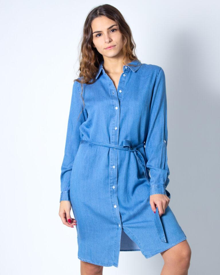 Vestito corto Vila Clothes Bista Denim Belt Dress/SU Noos Denim - Foto 1