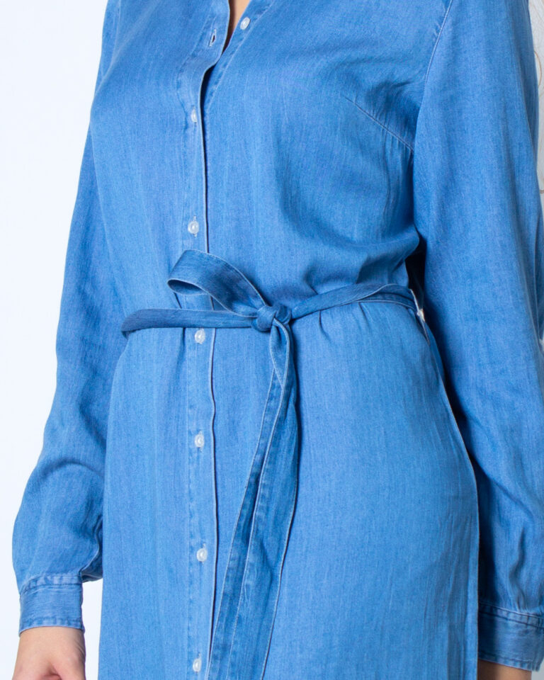 Vestito corto Vila Clothes Bista Denim Belt Dress/SU Noos Denim - Foto 3