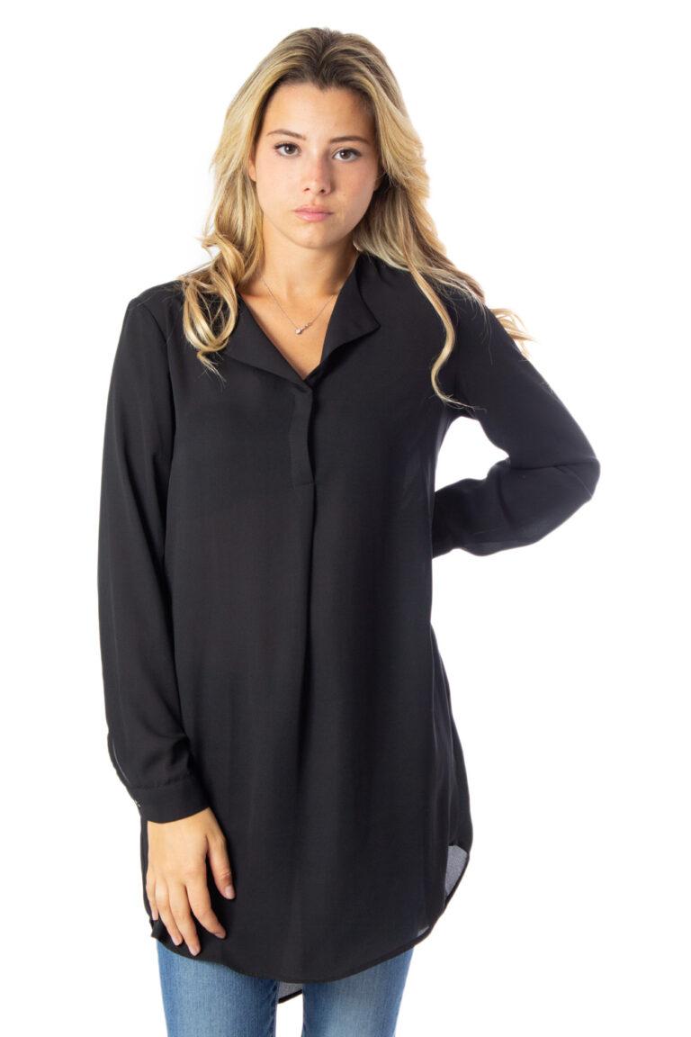 Bluse manica lunga Vila Clothes VILUCY L/S TUNIC Nero - Foto 1