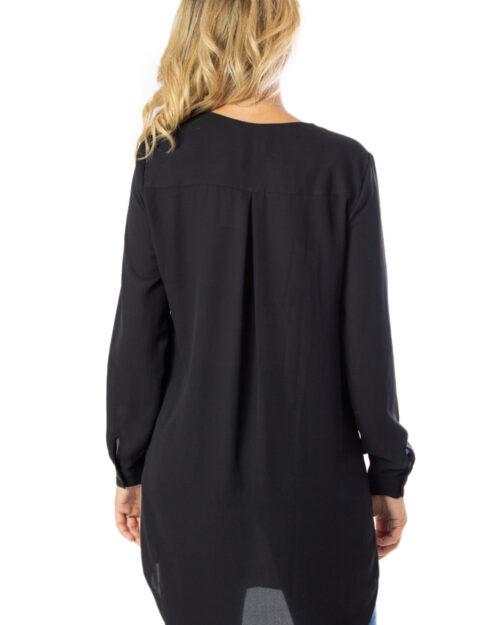 Bluse manica lunga Vila Clothes VILUCY L/S TUNIC Nero - Foto 2