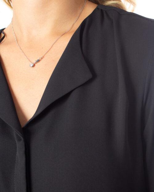 Bluse manica lunga Vila Clothes VILUCY L/S TUNIC Nero - Foto 3