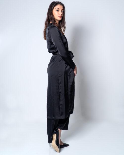 Vestito lungo Akè KIMONO BELGA Nero – 45364