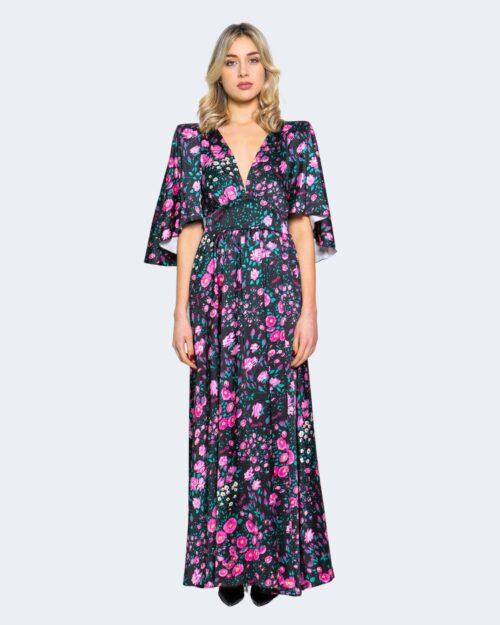 Vestito lungo Aniye By WRAP DRESS GARDEN Nero – 62913