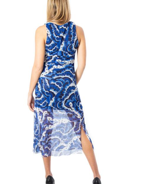 Vestito midi Desigual Vest Belmopan Blu – 39691