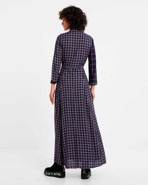 Vestito lungo Desigual Vest Genova Blue scuro – 58330