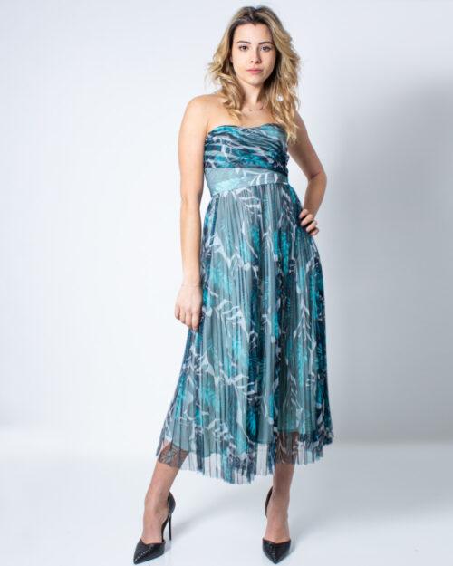 Vestito midi Guess MONICA DRESS Verde - Foto 1