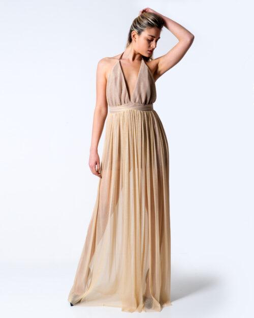 Vestito lungo Miss you Abitino Oro Oro - Foto 1