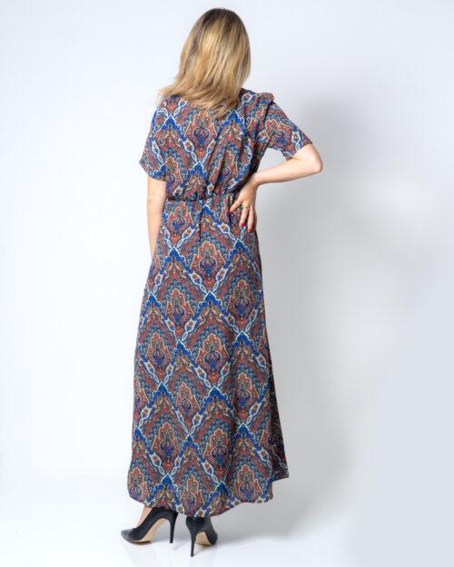 Vestito lungo Only HANNA S/S ANCLE DRESS WVN Blu – 42099