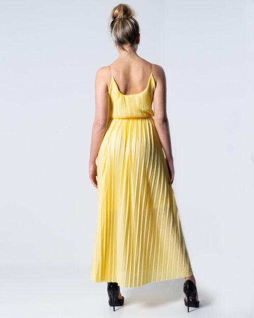 Vestito lungo Only ELEMA S/L MAXI WRAP DRESS LINING JRS Giallo – 42009