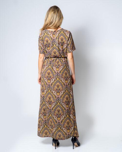 Vestito lungo Only HANNA S/S ANCLE DRESS WVN Oro – 42099