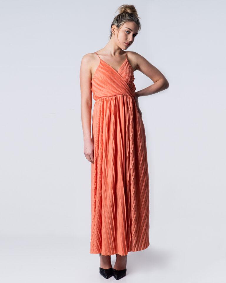 Vestito lungo Only ELEMA S/L MAXI WRAP DRESS LINING JRS Pesca - Foto 1