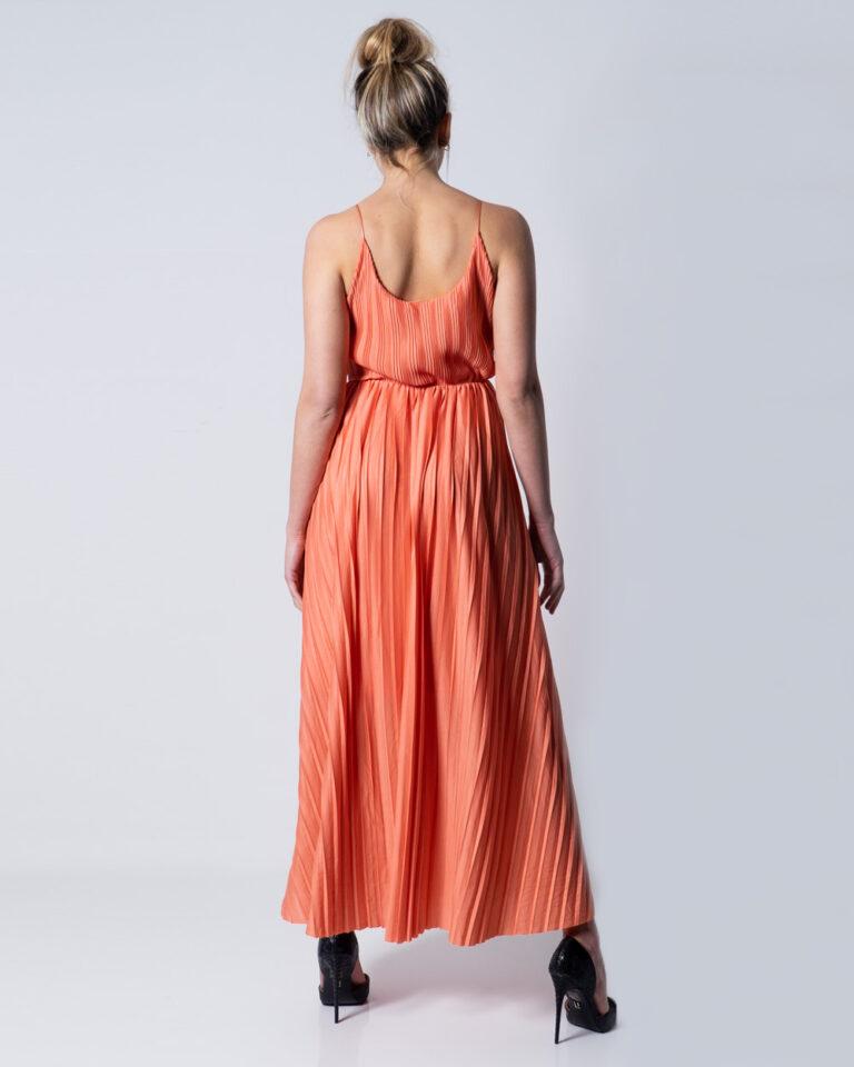 Vestito lungo Only ELEMA S/L MAXI WRAP DRESS LINING JRS Pesca - Foto 2